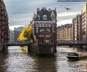 Hamburg, Germany puzzle
