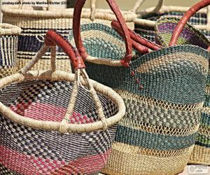 Handmade baskets puzzle