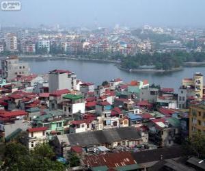 Hanoi, Viet Nam puzzle