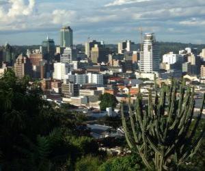 Harare, Zimbabwe puzzle