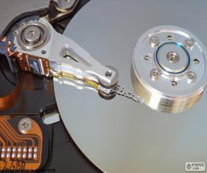 Hard disk puzzle