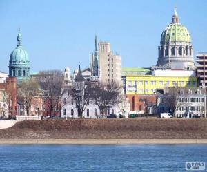Harrisburg, United States of America puzzle