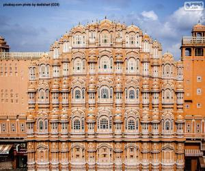 Hawa Mahal, India puzzle