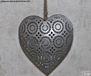 Heart of metal puzzle