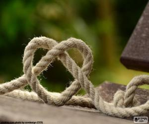 Heart of rope puzzle