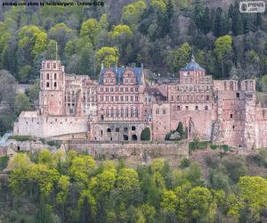 Heidelberg Castle, Germany puzzle