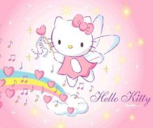Hello Kitty fairy puzzle