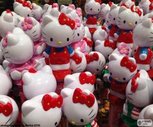 Hello Kitty figures puzzle