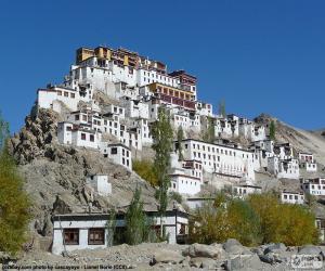 Hemis Monastery, India puzzle