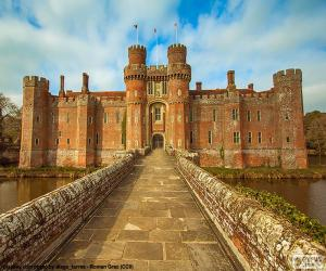 Herstmonceux Castle, United Kingdom puzzle