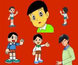 Hidetoshi Dekisugi, Nobita's classmate puzzle