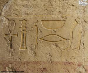 Hieroglyphic puzzle