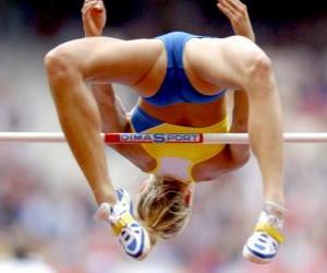 High jump puzzle