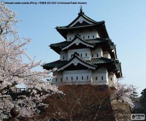 Hirosaki Castle, Japan puzzle