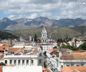 Historic city of Sucre, Bolivia puzzle