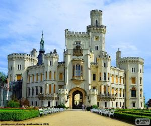 Hluboká Castle, Czech Republic puzzle