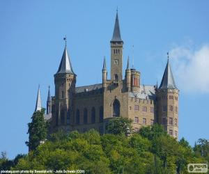 Hohenzollern Castle, Germany puzzle