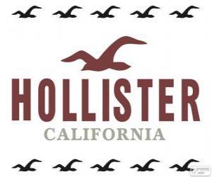 Hollister logo puzzle