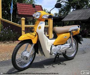 Honda Super Cub puzzle