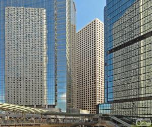 Hong Kong buildings puzzle