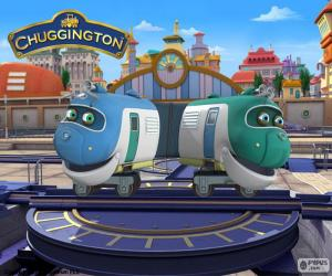 Hoot and Toot, Chuggington puzzle