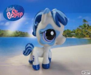Horse from the Littlest PetShop puzzle