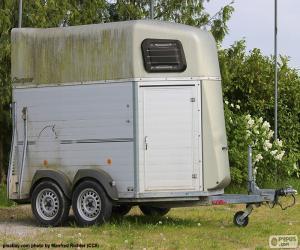 Horse trailer puzzle