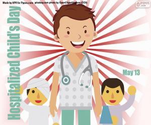 Hospitalized Child's Day puzzle