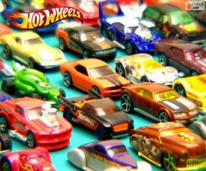 Hot Wheels cars puzzle