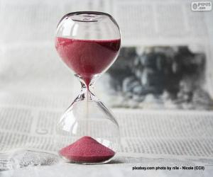 Hourglass puzzle