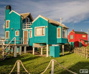 Houses, Santa Clara del Mar, ARG puzzle