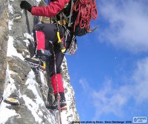 Ice climbing puzzle