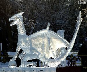 Ice dragon puzzle