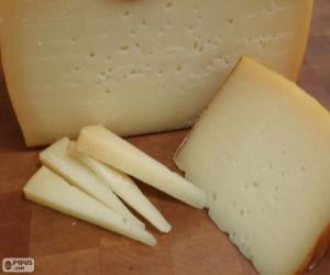 Idiazabal cheese (Spain) puzzle