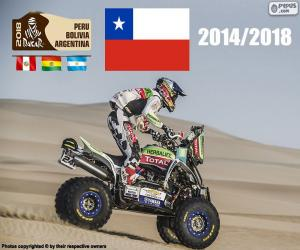 Ignacio Casale, Dakar 2018 puzzle