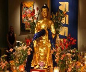 Image of Buddha puzzle