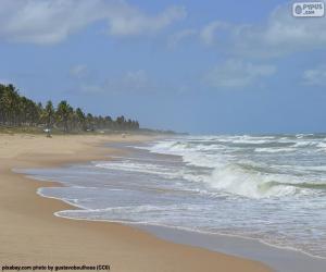 Imbassai Beach, Brazil puzzle