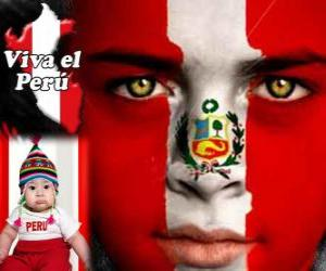 Independence Day of Peru, July 28. It commemorates the Declaration of Independence from Spain in 1821 puzzle