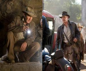 Indiana Jones is one of the world's most famous adventurers puzzle