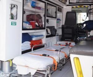 Inside an ambulance puzzle