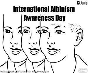 International Albinism Awareness Day puzzle