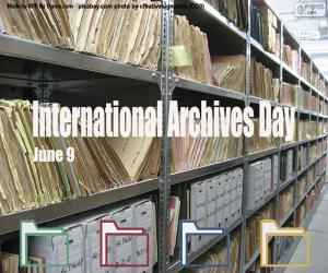 International Archives Day puzzle