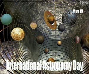 International Astronomy Day puzzle
