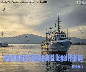 International day against illegal fishing puzzle