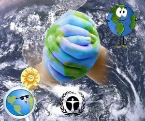 International Day for the Preservation of the Ozone Layer, September 16 puzzle