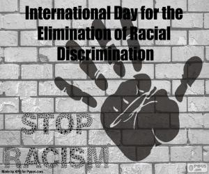 International Day for the Elimination of Racial Discrimination puzzle