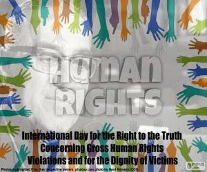International Day for the Right to the Truth puzzle
