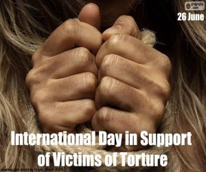 International Day in Support of Victims of Torture puzzle