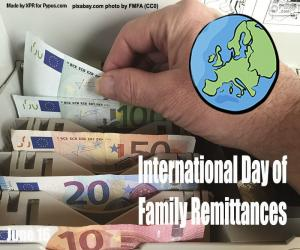 International Day of Family Remittances puzzle