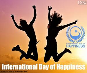 International Day of Happiness puzzle